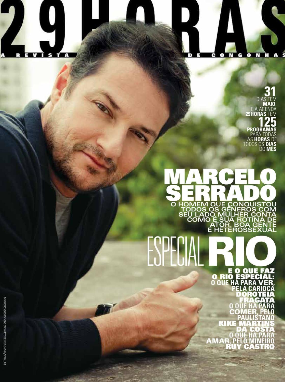 revista 29HORAS - ed. 31 - maio 2012  Revista mensal com agenda cultural de São Paulo, distribuída no Aeroporto de Congonhas. Capa: Marcelo Serrado