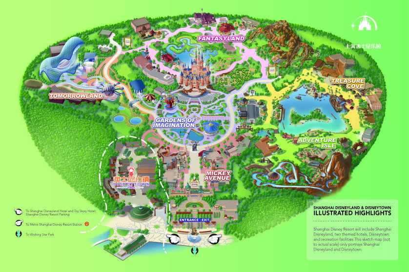 Image result for disneyland layout