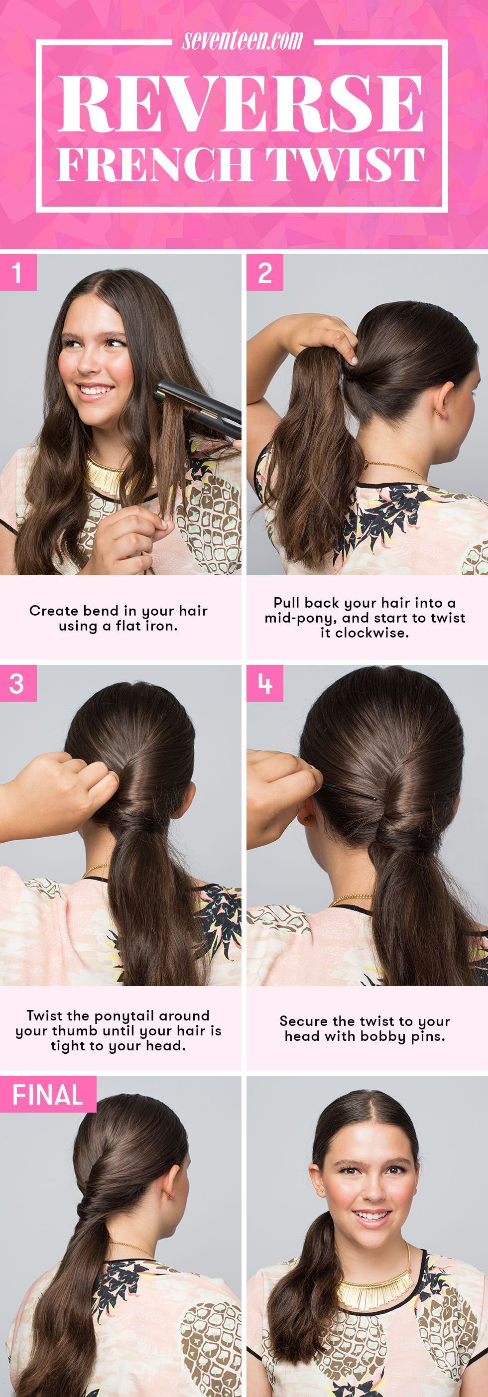 backtoschool hairstyles you can do in minutes or less