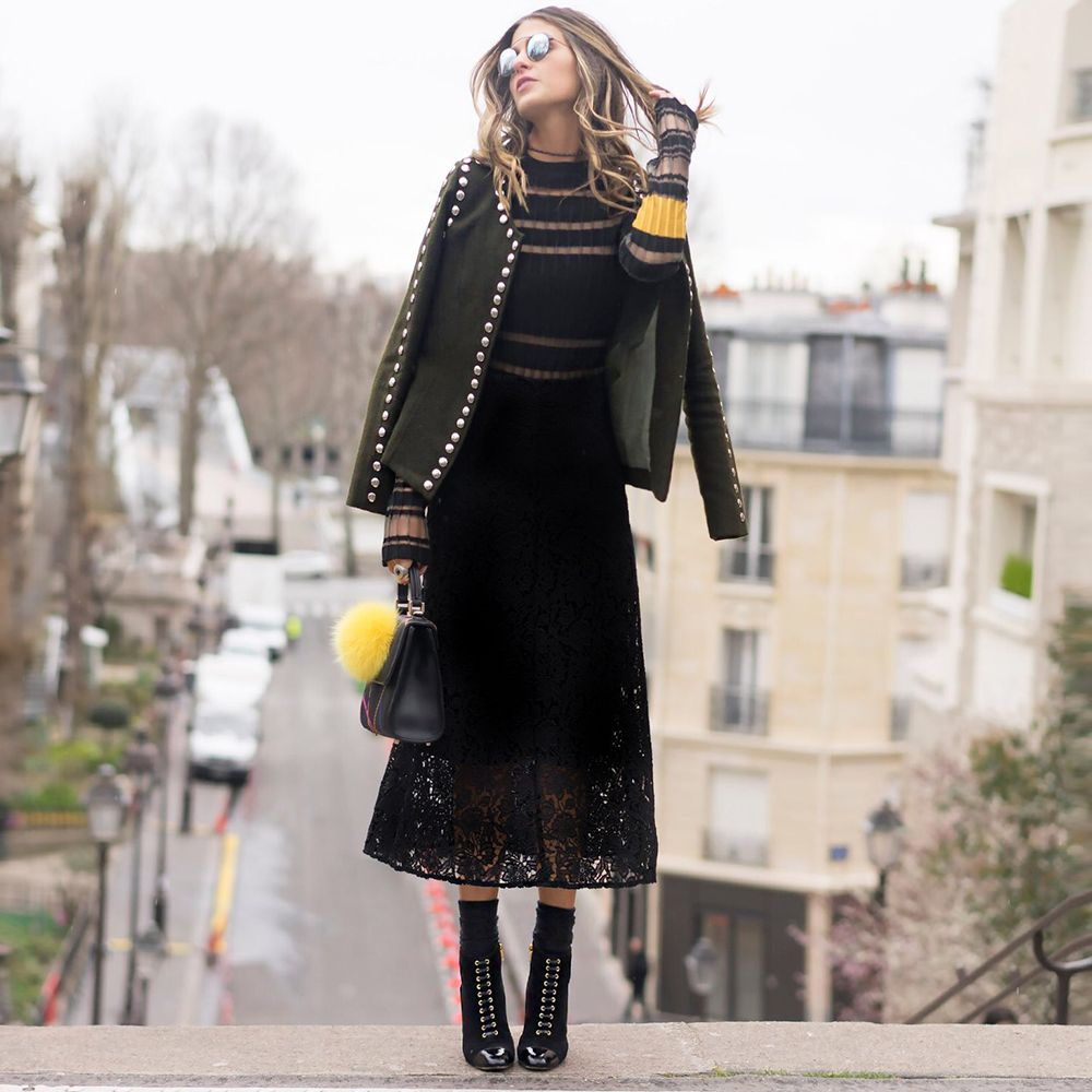pfw day 6 - Look rendado anna fasano   Roupas   Clothes 2 ... fb3731a23a