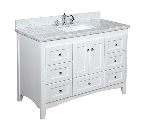"kbc abbey 48"" single bathroom vanity set & reviews 