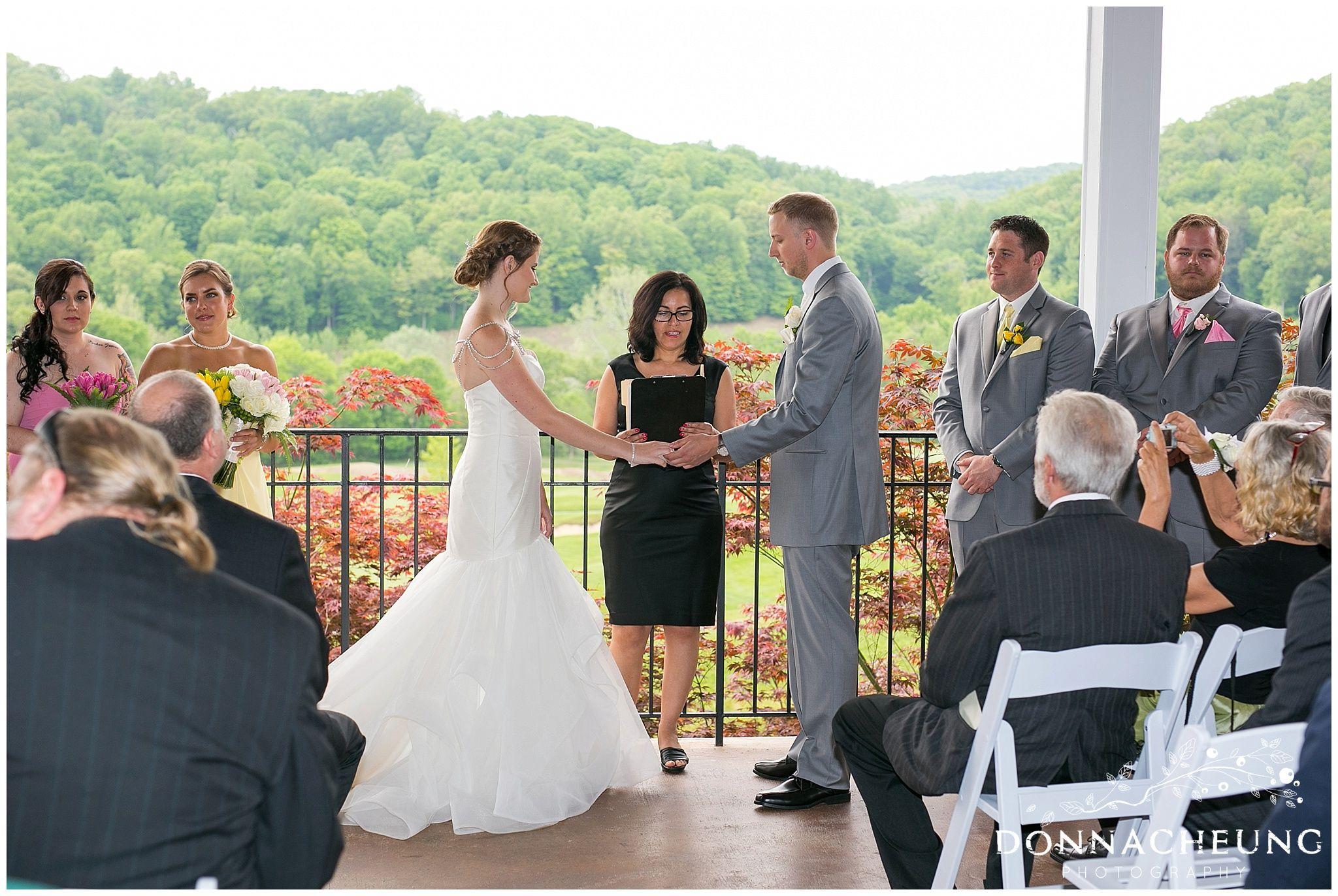 Sam lew hollowbrook golf club wedding donna cheung photography