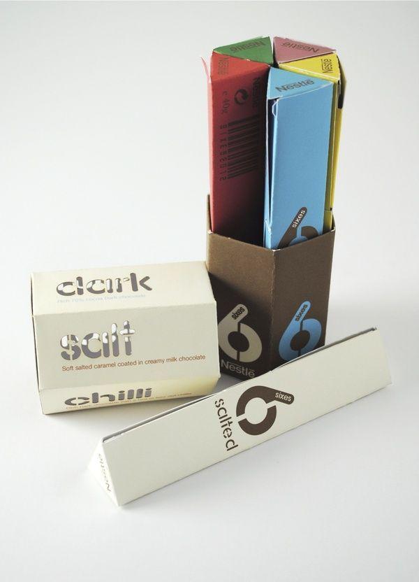 Chocolate Box Design (Nestle) by Michael Turner, via Behance Aula Creactiva. Escuela de Creativos. Madrid.