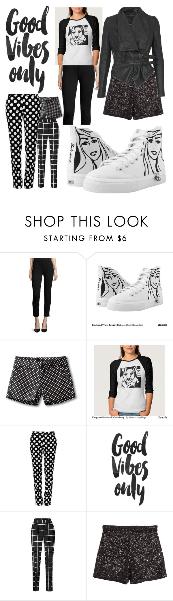 """""""Its only Black and White but I like it"""" by tatianamab ❤ liked on Polyvore featuring Joie, Kavu, Boutique Moschino, H&M and MuuBaa"""