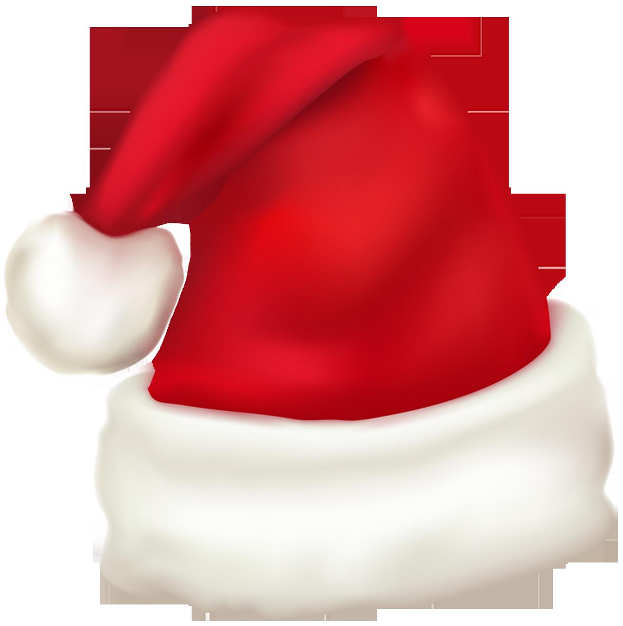 Large Santa Hat Clipart Santa Claus Cap Santa Hat Clipart Christmas Clipart