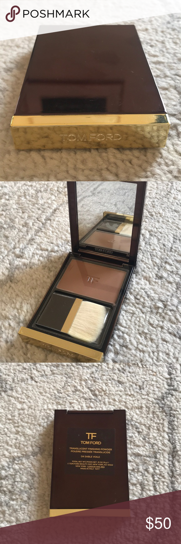 c7d3b342e2958 Unopened Tom Ford translucent finishing powder Unopened Tom Ford  translucent finishing powder