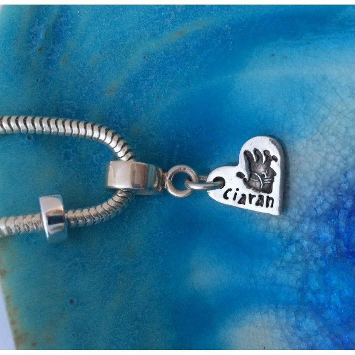 Teeny Tiny Hand/Footprint charms - suitable for Pandora-style