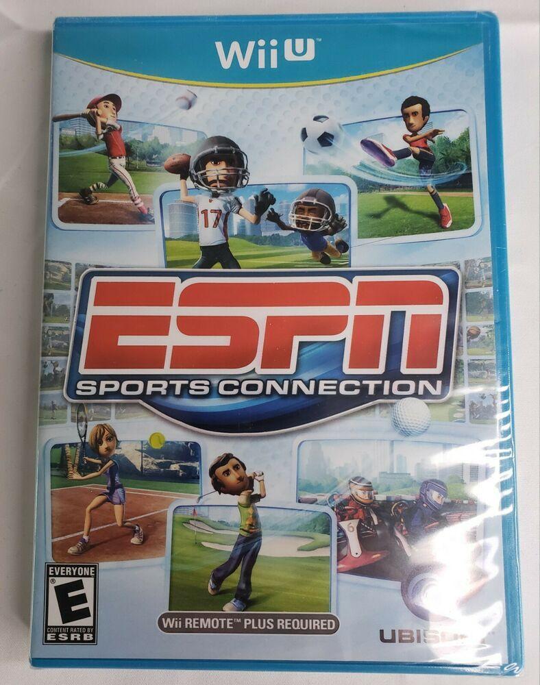 ESPN Sports Connection NINTENDO WII U Brand New Factory