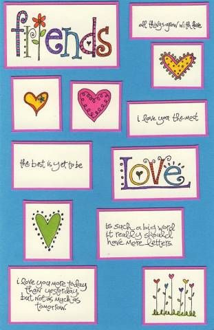 Love Matters Index Card by galleryindex - Cards and Paper Crafts at Splitcoaststampers