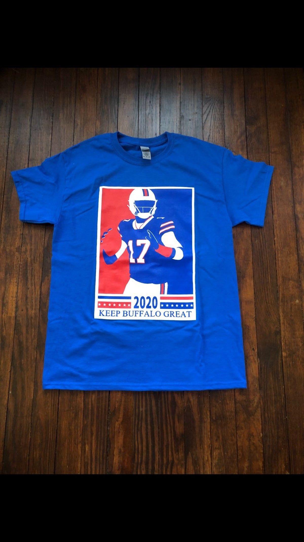 Medium Josh Allen Buffalo Bills T Shirt Buffalo Bills Shirt Bills Shirts Buffalo Bills
