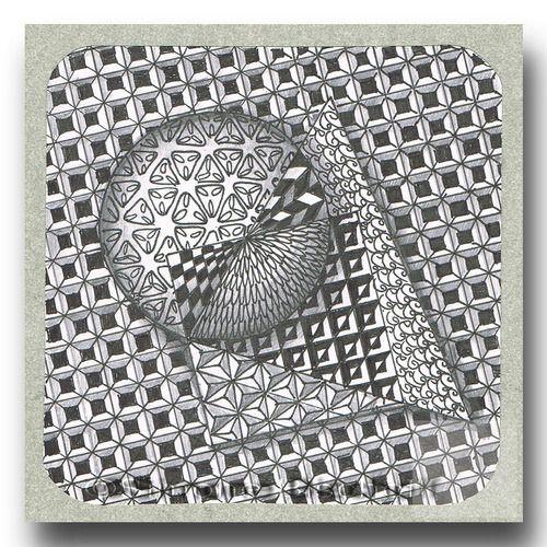Galerie Kleines Zentangle Muster Kritzeleien 3d Zeichnungen
