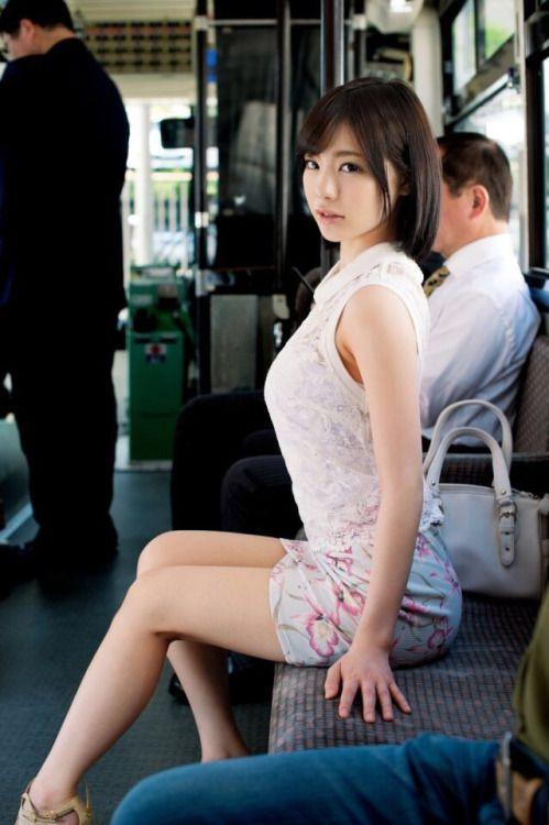 in asian public women