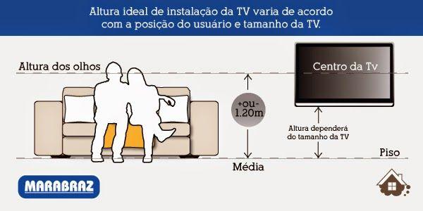 Distancia Sofa X Tv Altura Tv Distancia Tv Altura Tv Sala