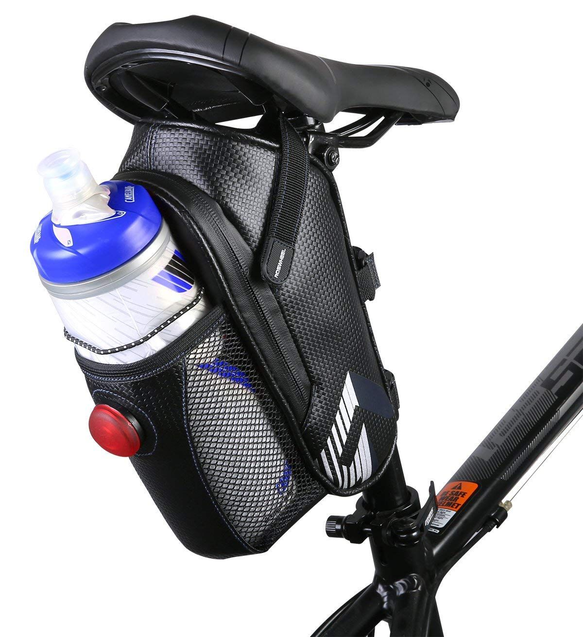 Bicycle Waterproof Storage Saddle Bag Bike Seat Cycling Rear Pouch Outdoor Tool