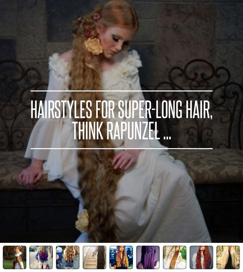 #Hairstyles for Super-Long #Hair, Think #Rapunzel ... →  Hair #Beautiful