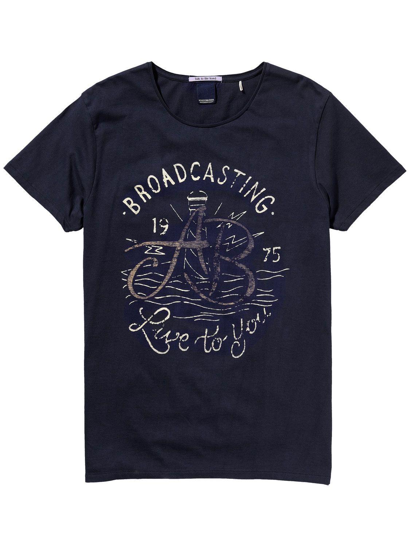 T-shirt Explorer | T-shirt m/c | Habillement Homme Scotch & Soda