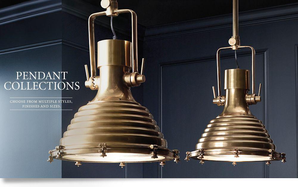 Restoration hardware pendant lights ideas for stair and kitchen chandeliers restoration hardware pendant aloadofball Images