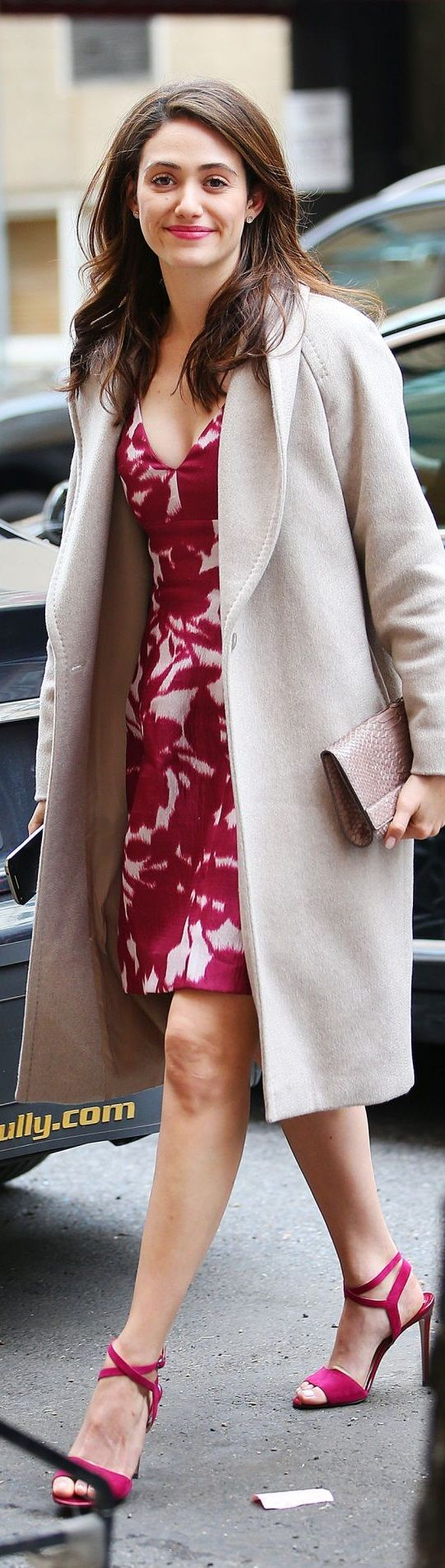 Emmy Rossum Style – Out in New York City, NY 1-7-2016