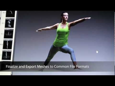 3D Scanner Software for Microsoft Kinect or Asus Xtion