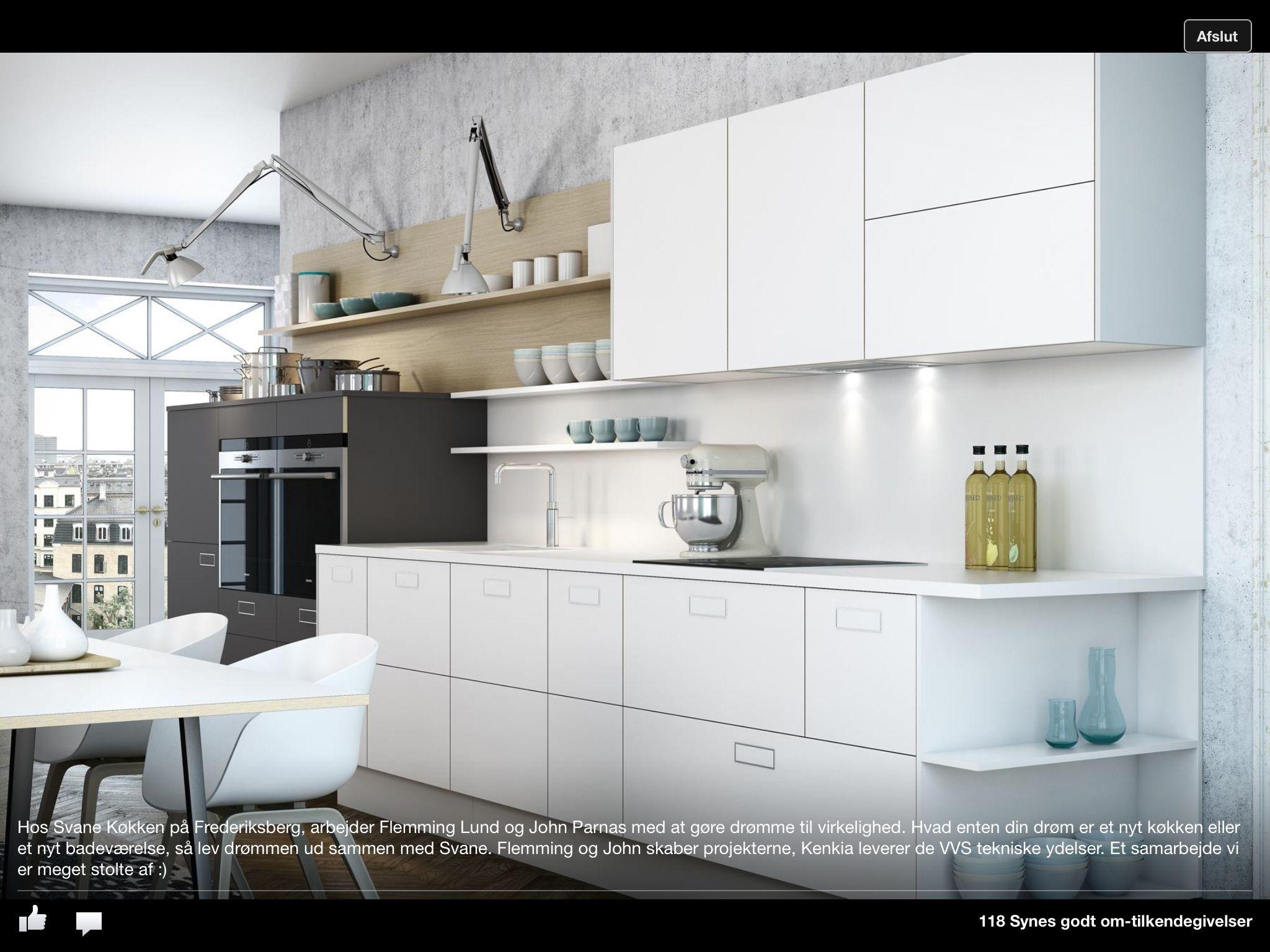 Fedt køkken, flotte lamper | Køkken | Pinterest