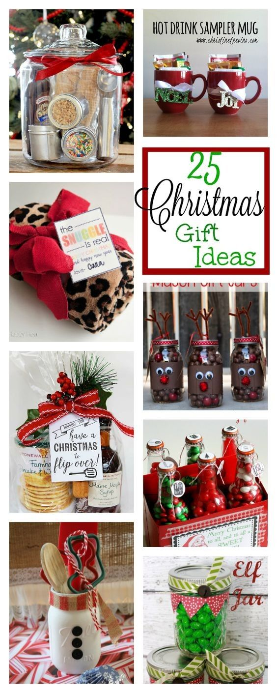 Christmas gift ideas for family homemade