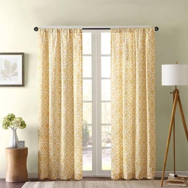 Soft Yellow Curtain