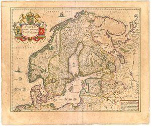 Danmark Norge Gamle Kort Verdenskort Kort