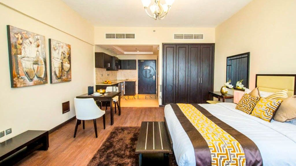 Nice Fully Furnished Studio Apartment In Arjan For Rent 59 399 Aed Yearly Besti Fully Furnished Apartments Furnished Apartment Furnished Apartments For Rent
