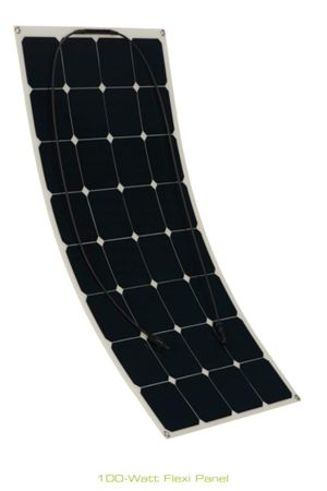 Zamp Solar Zs 100f 30a Dx 100w Flexible Deluxe Solar Panel