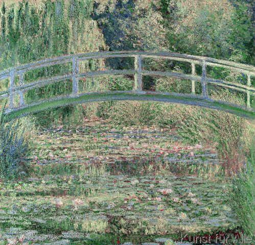 Claude Monet - Waterlily Pond, 1899