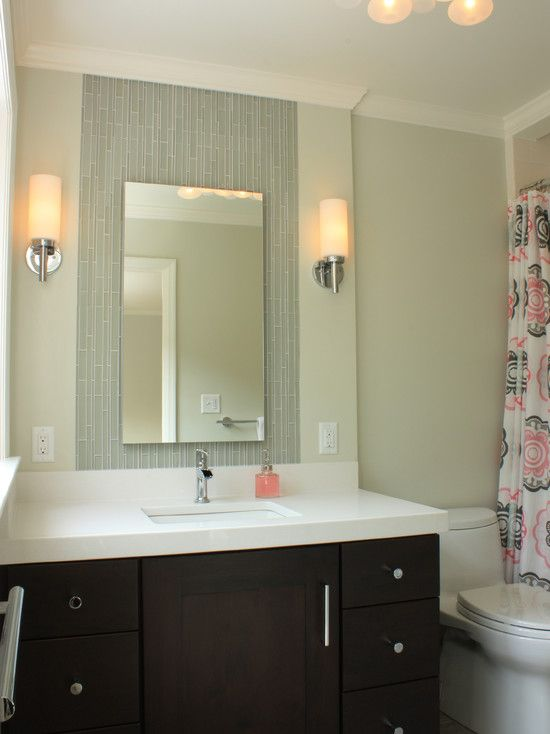 Frameless bathroom vanity mirrors bathroom vanities - Pictures of vanities in bathrooms ...