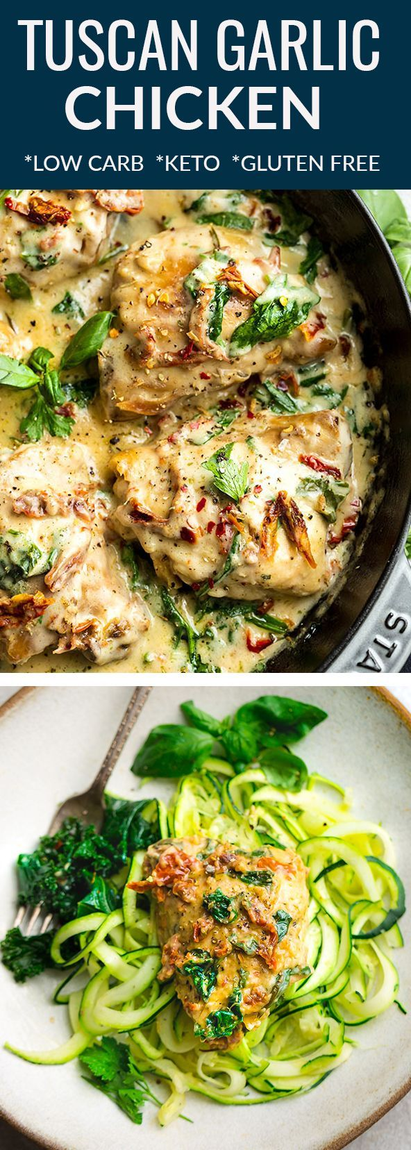 Keto Tuscan Garlic Chicken images