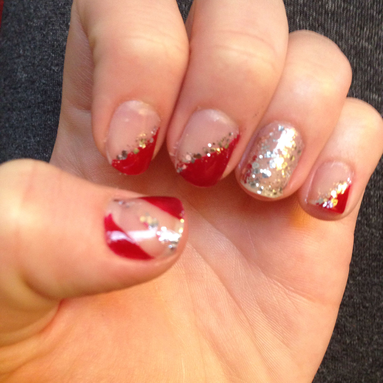 Christmas nails :) #nails #christmas