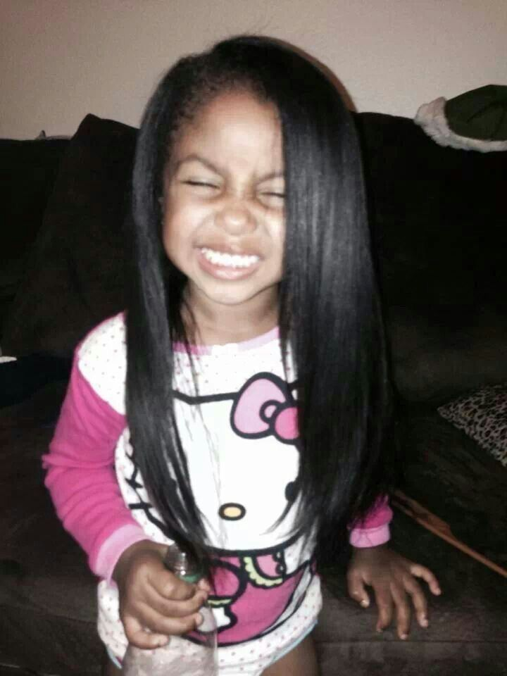 @kjvougee ️   Kids hairstyles, Baby hairstyles, Remy human ...