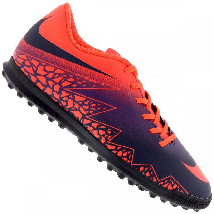 Chuteira Society -Oferta do Dia!-Chuteira Society Nike Hypervenom Phade II  TF - 26be9b961479a