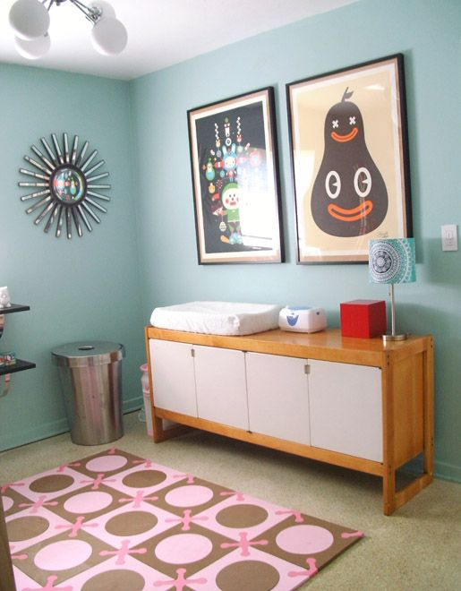 Y Retro Nursery Can T Help But Smile Back At The Smiling Pear