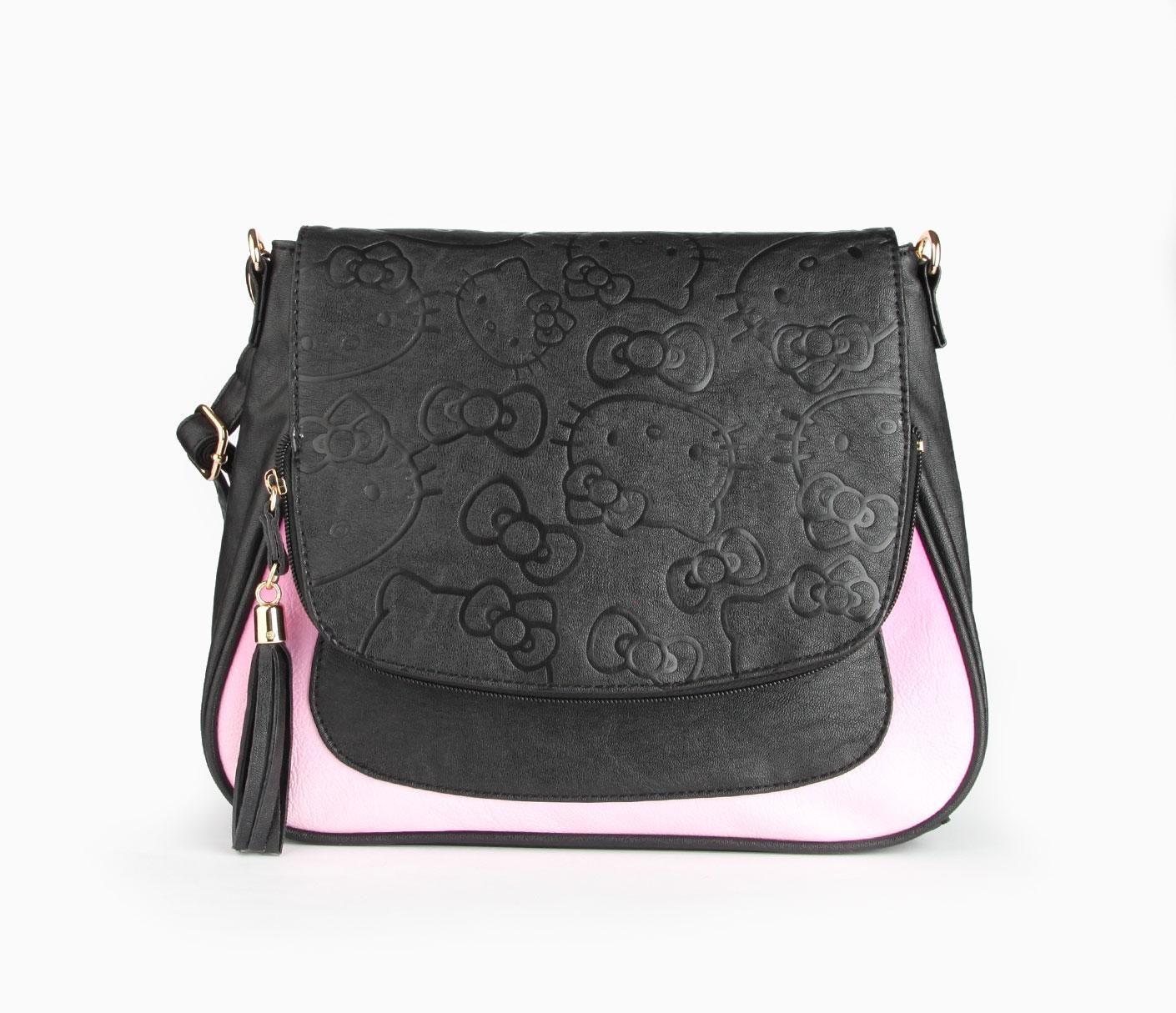b2f54a6bc Hello Kitty Crossbody Bag: Purple Ombre | Sanrio Bags | Hello kitty ...