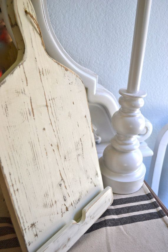 Hey, I found this really awesome Etsy listing at https://www.etsy.com/listing/159658651/shabby-chic-wooden-kitchen-ipad-stand-in