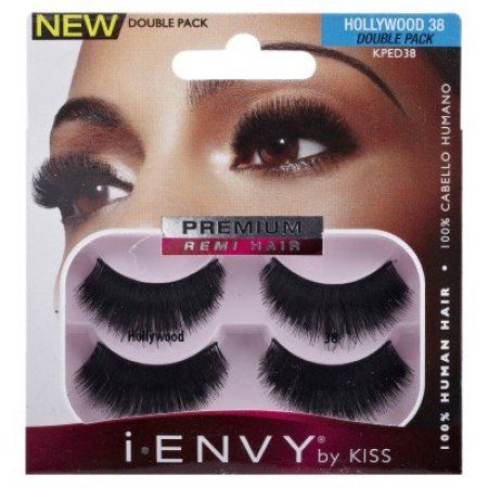 5c4c39c72c3 Kiss I Envy Hollywood 38 Double Pack Lashes | Products | Eyelashes ...