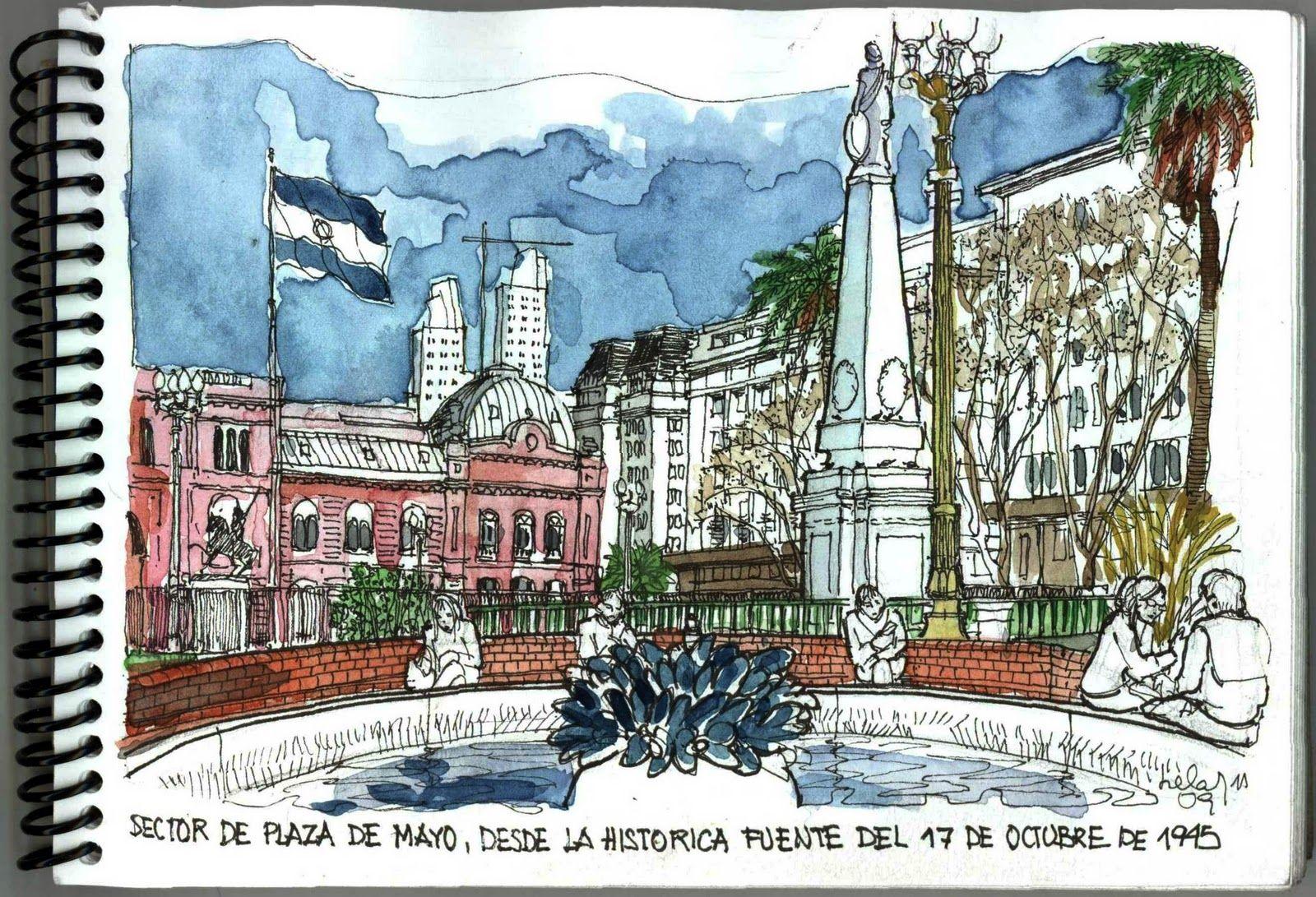 La Plaza de Mayo es un espacio urbanstico sntesis de la historia