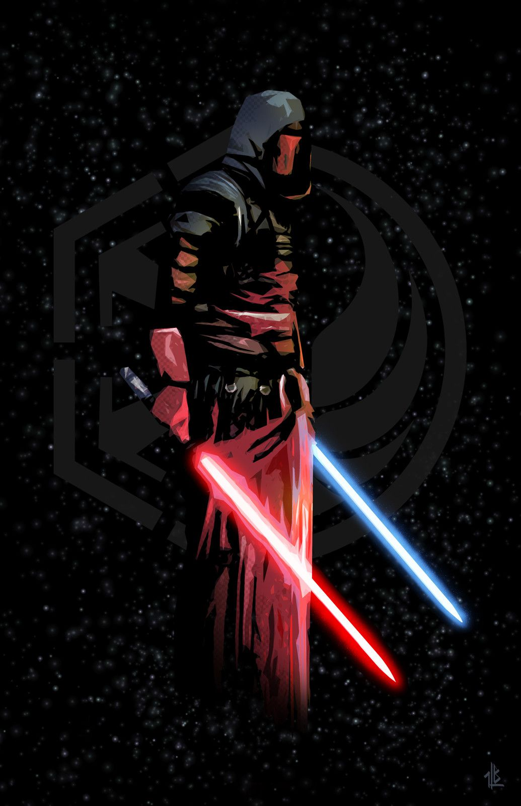 Darth Revan By Ben Laverock On Artstation Star Wars Sith Star Wars Wallpaper Star Wars The Old