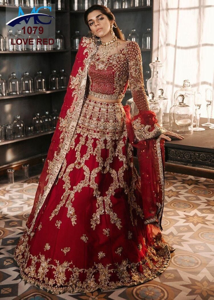 Wedding Bridal Outfits In Turkey Soudi Bestcollection In 2020 Bridal Lehenga Red Indian Bridal Outfits Red Bridal Dress