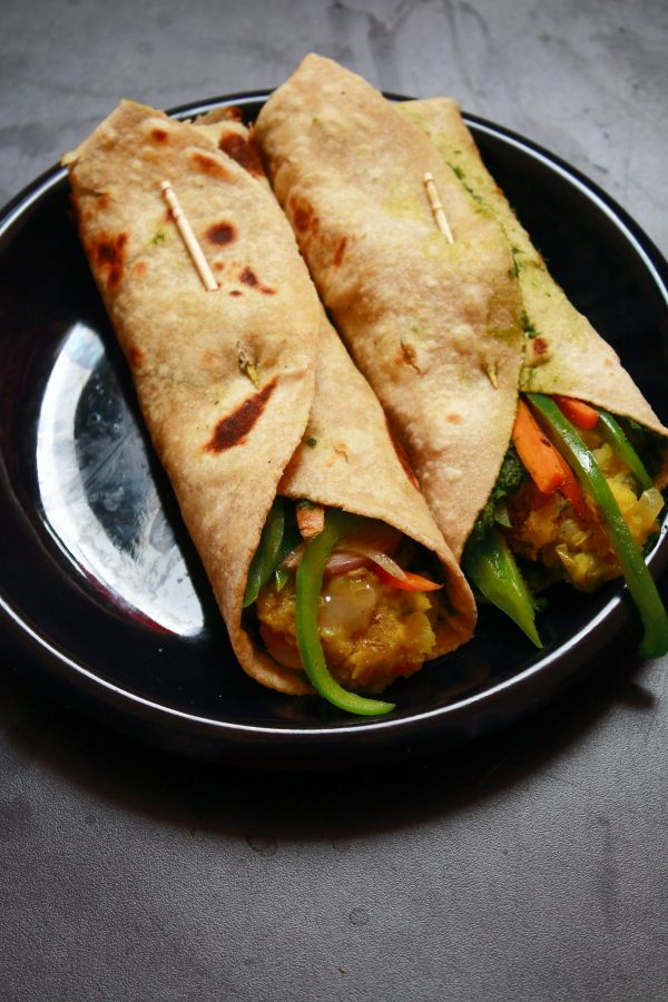 Kathi roll recipe tasty snack healthy brunch it can also be kathi roll recipe tasty snack healthy brunch it can also be served as a healthy lunch recipe it is very easy to make and tasty forumfinder Image collections