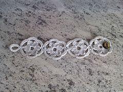 Crochet Bracelet - Tutorial