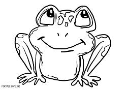 Disegni Di Rane Da Scaricare E Colorare Gratis Portale Bambini Frog Coloring Coloringpages Coloringinspiration Disegni Disegni A Mano Rana