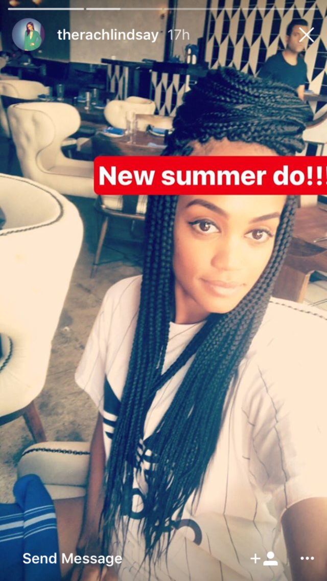 The Bachelorettes Rachel Lindsay Just Debuted A Brand New Summer