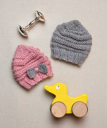 Preemie Baby Hats Free Knitting Pattern From Red Heart Yarns New