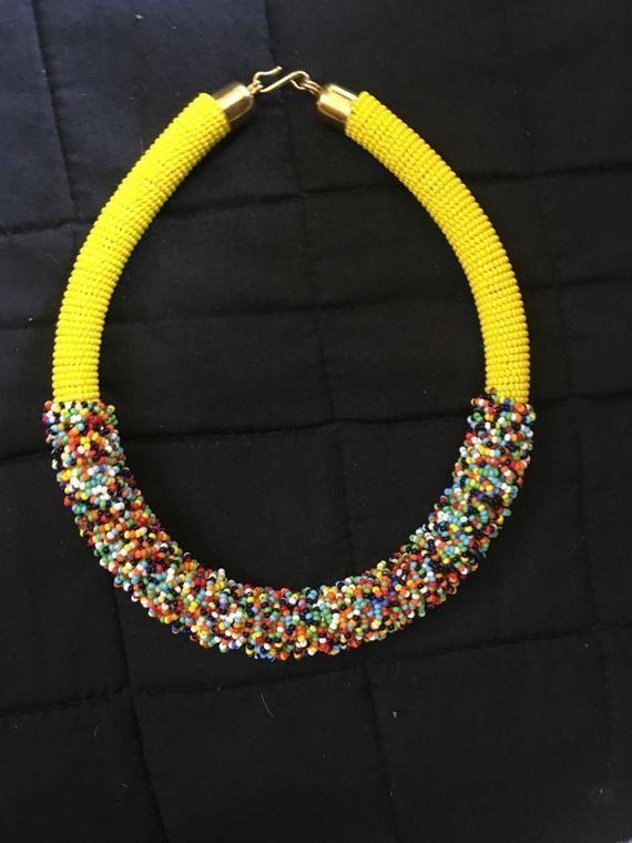 Handgemachte Halskette, afrikanische Masai Halskette, Massai Halsreifen, handgefertigte Halskette für Frauen, Geschenk für sie. Perlenkette. Stammes-Halskette   - Products - #afrikanische #Frauen #für #Geschenk #Halskette #Halsreifen #handgefertigte #handgemachte #Masai #Massai #Perlenkette #Products #Sie #StammesHalskette #afrikanischefrauen