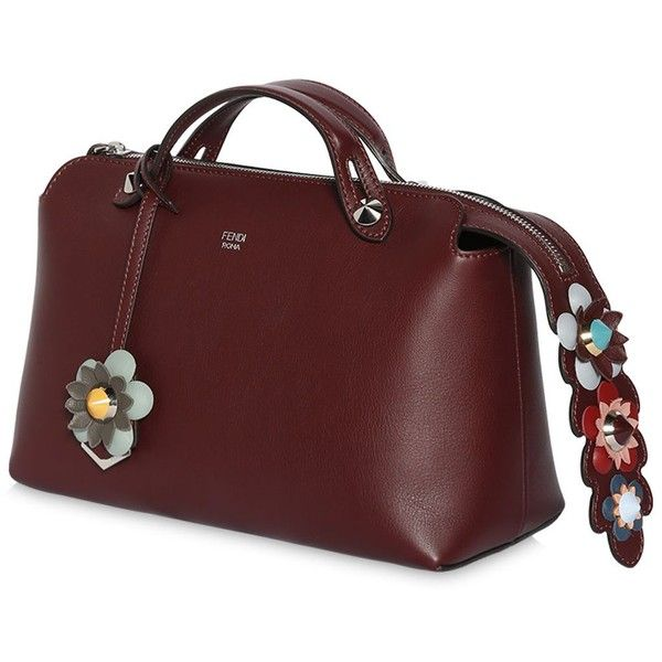 Fendi Women Small By The Way Bag W  Flower Details ( 2 e6f29133f8079