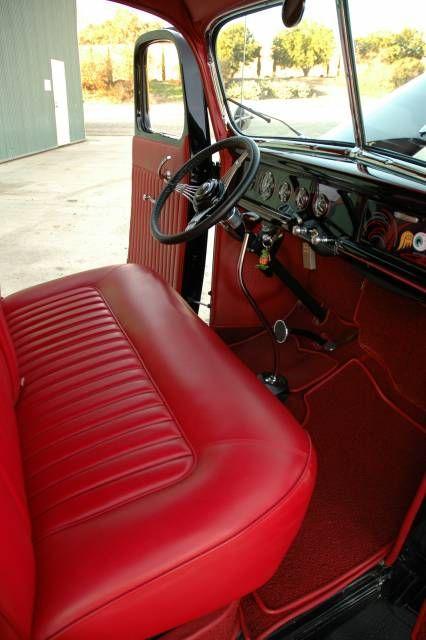 1940 Ford Show Truck Interior 2 | Ford f | Pinterest | Alte trucks ...